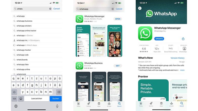 WhatsApp update ios 01