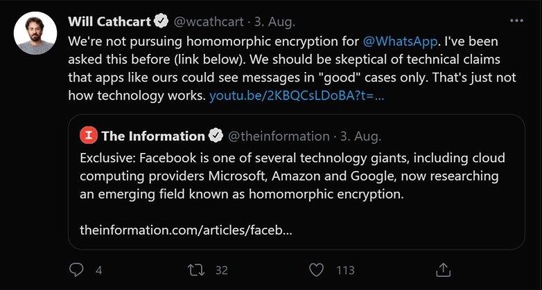 Will Cathcart Twitter