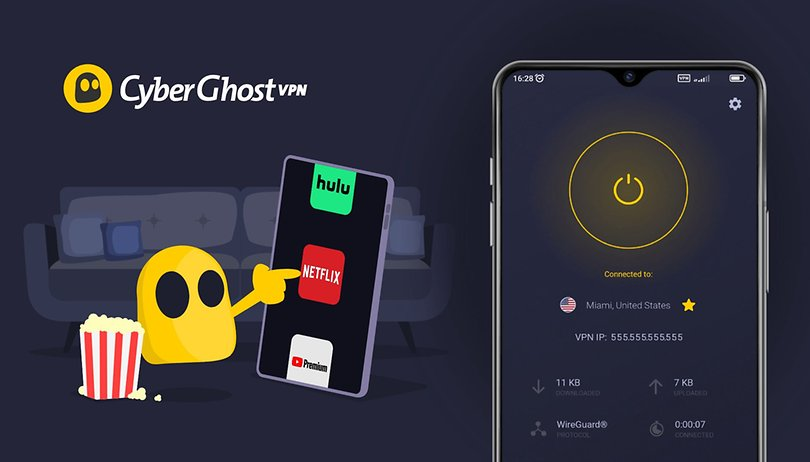 Get CyberGhost VPN at 83 percent discount: Cool apps and streaming mode
