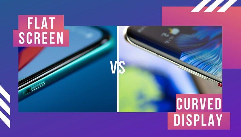 Ergebnisse der Umfrage: Ihr wollt Smartphones mit flachen Displays