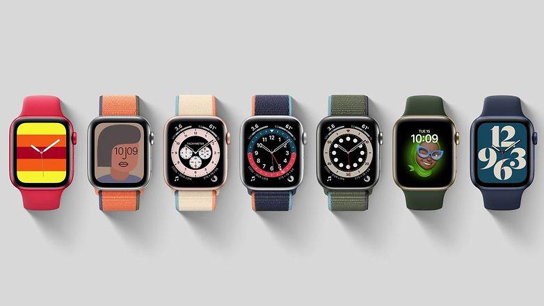 Apple Watch Zifferblatt watchOS 7 Bild Apple