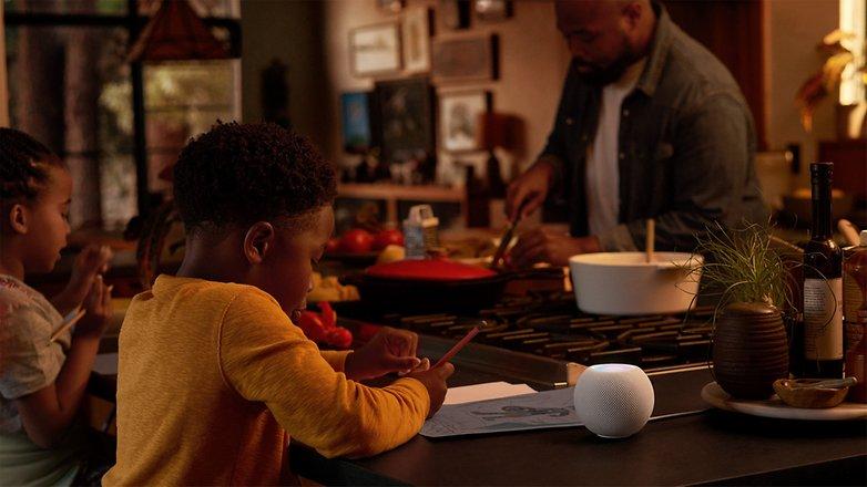 Apple homepod mini kitchen 10132020