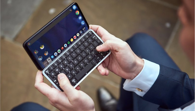 Not dead yet: Astro Slide 5G brings a real keyboard in the 5G-age