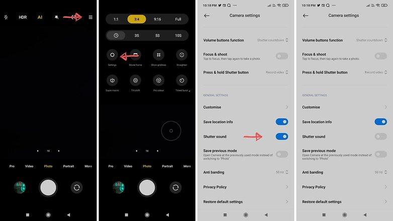 Camera Shutter Sound Xiaomi