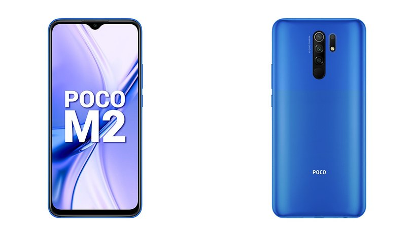 POCO launches a new budget smartphone for India - the POCO M2