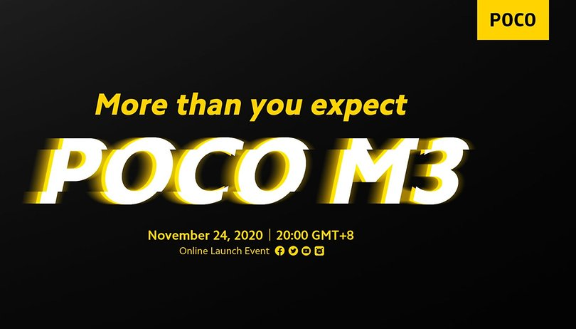 POCO M3 details out before November 24 launch