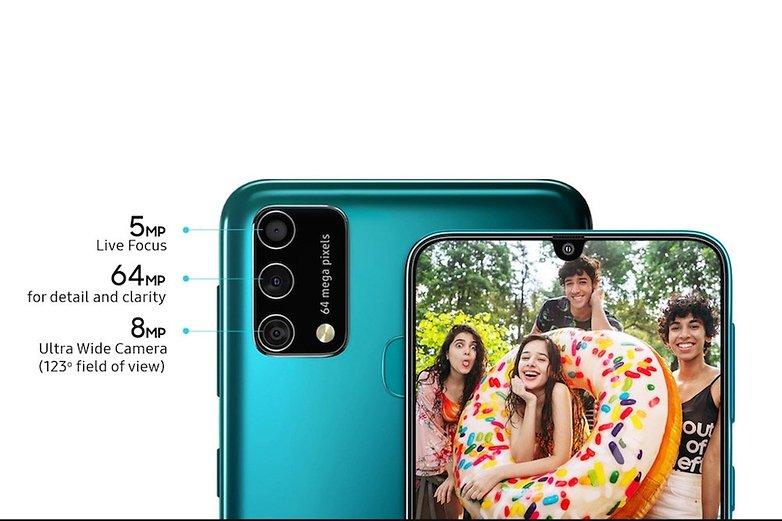 Samsung Galaxy F41 Camera