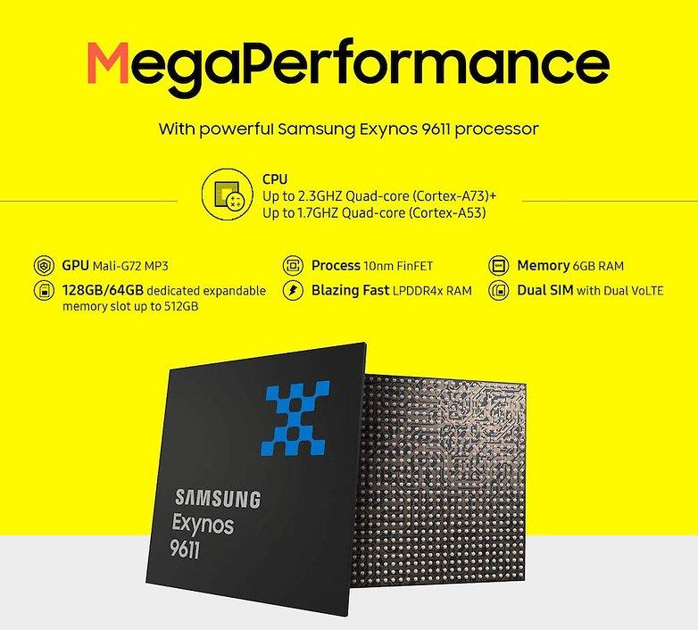 Samsung Galaxy M Prime Processor