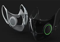 Razer mostra projeto de máscara de proteção contra COVID-19 com luzes RGB