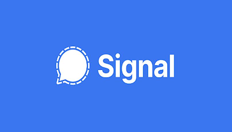 Como criar uma conta no Signal