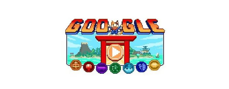 Google Olympia Doodle