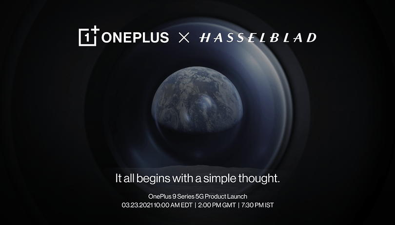 OnePlus announces Hasselblad partnership: OnePlus 9 arriving on March 23