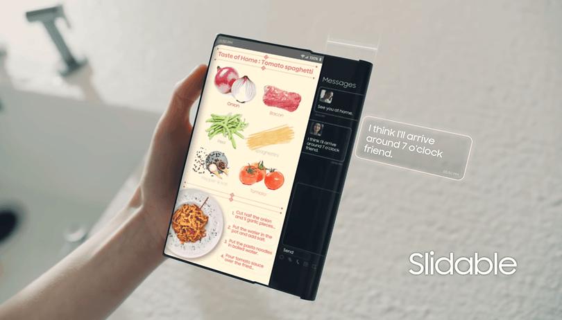 Neues Patent: Samsung-Smartphone mit rollbarem Display und Unter-Display-Kamera