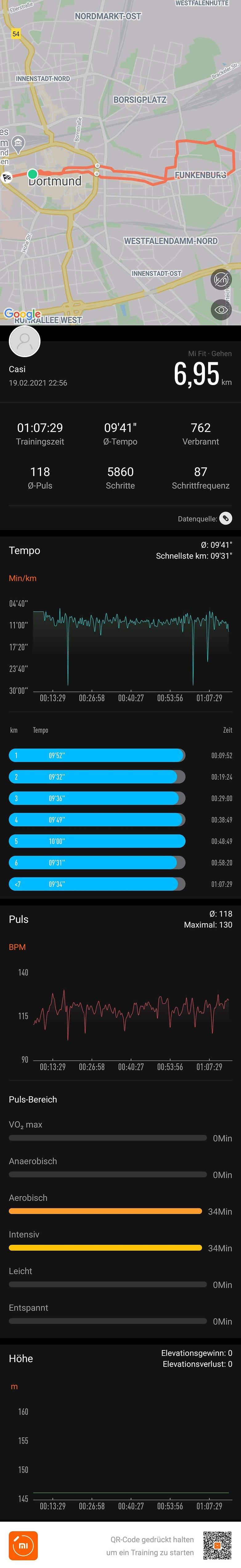Xiaomi Mi Fit Latschen