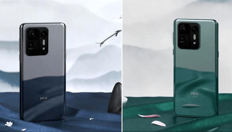 Le Xiaomi Mi Mix 4 est officiel: Caméra sous l'écran et Snapdragon 888+