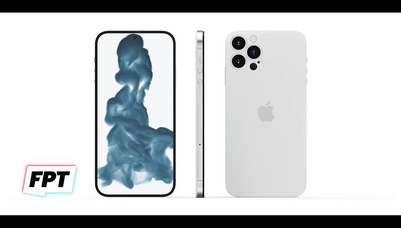 iPhone 14 aparece sem notch ou relevo de câmera em renderização