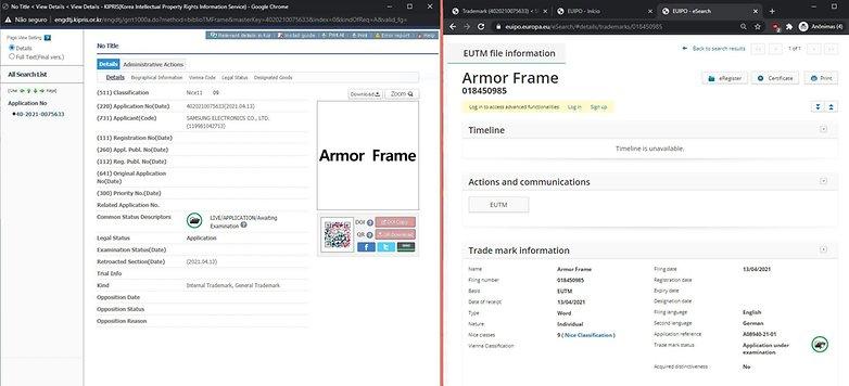 2021 04 19 Samsung armor frame