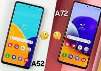 Galaxy A52 vs Galaxy A72: Samsungs Mittelklasse im direkten Vergleich