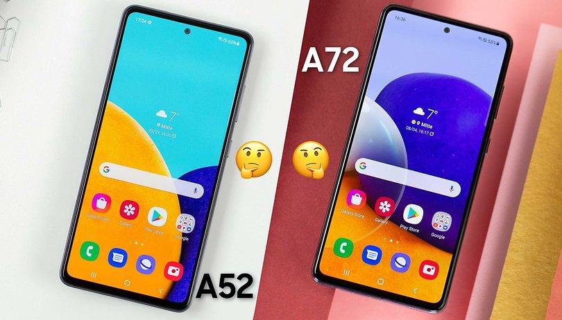 Galaxy A52 vs. Galaxy A72: os intermediários da Samsung frente-a-frente