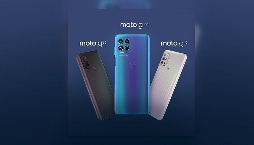 Moto G10, G30 e G100: família cresce e inclui modelo com CPU premium