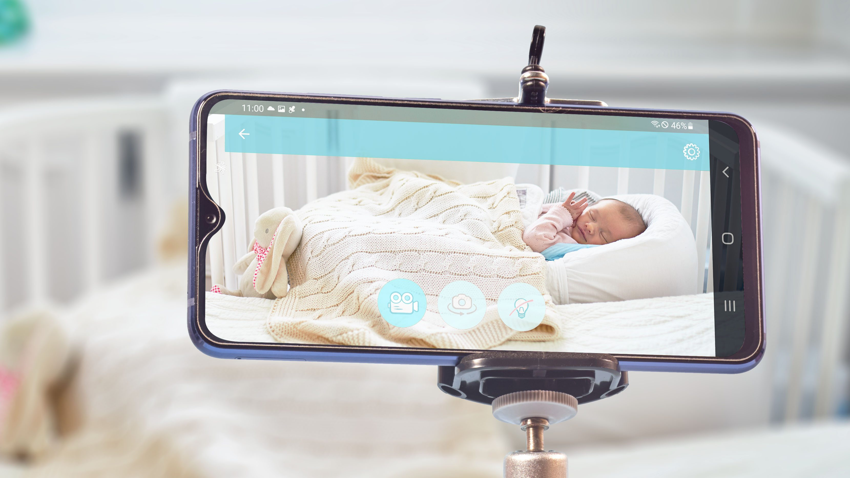 How to make use of your outdated telephone as a child monitor