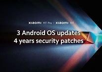 Xiaomi promete 3 atualizações de Android e 4 anos de patches para linha 11T
