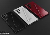 Le design du Samsung Galaxy S22 Ultra déchaîne les leakers