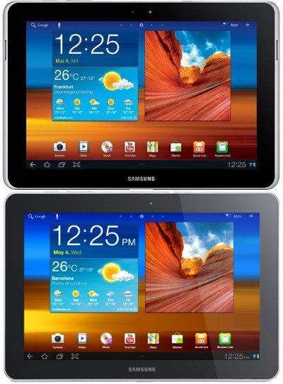"""Das """"alte"""" Galaxy Tab 10.1 und das Galaxy Tab 10.1N im Vergleich"""