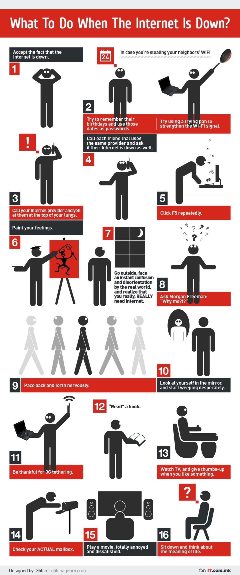 infografik was tun wenn das internet nicht funktioniert androidpit. Black Bedroom Furniture Sets. Home Design Ideas