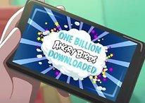 Angry Birds série : 1 milliard de fois téléchargé