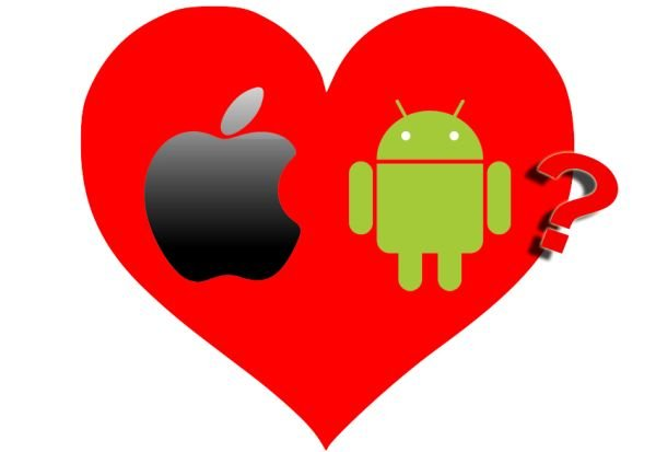 Apple und Android in love?