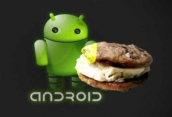Ice Cream Sandwich interfaz de usuario