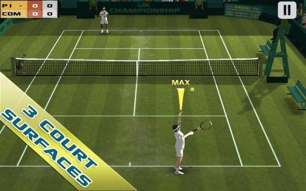 Cross-Court-Tennis