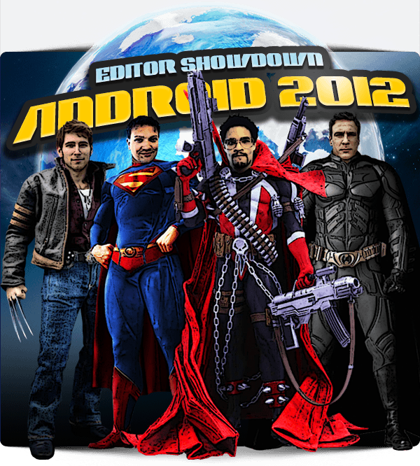 Editor Showdown Android 2012