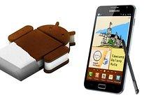 Actualización a ICS: Samsung Galaxy Note y Nexus S
