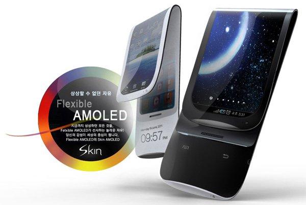 samsung pantalla flexible OLED 3
