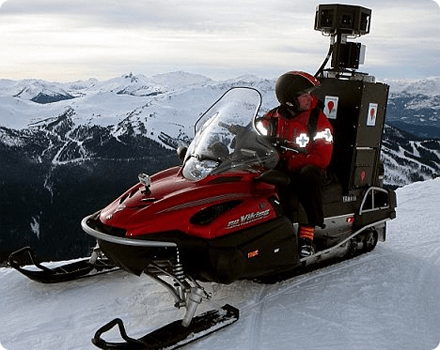 GoogleStreetViewSnowMobile