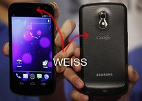Galaxy Nexus en Blanco, porque no todo es siempre de color negro