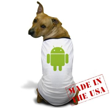 Android dog shirt