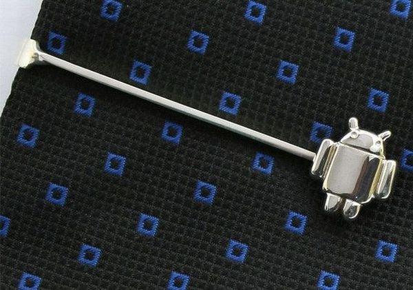 Android Krawattennadel