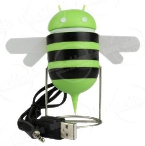 Android Robot Bee Style USB Speaker