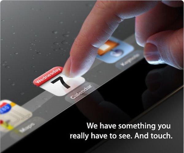 Apple Einladung