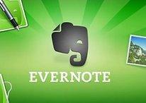 Nouvelles fonctionnalités pour l'application de post-it Evernote