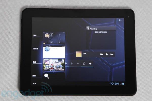 Fuzhou Rockhip Android 4.0 PAD
