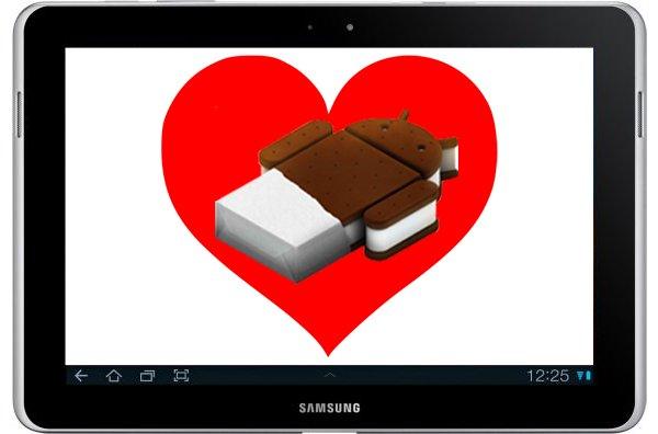 Galaxy Tab 10.1N ICS
