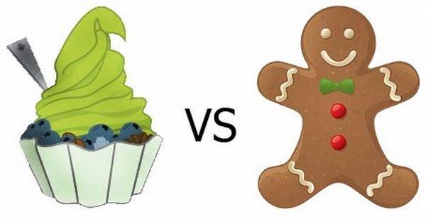 Froyo vs Gingerbread