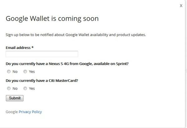 google wallet is coming very soon maybe even today androidpit. Black Bedroom Furniture Sets. Home Design Ideas