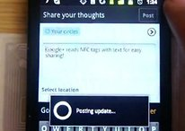 Google+ Android App ermöglicht NFC (Near Field Communication)