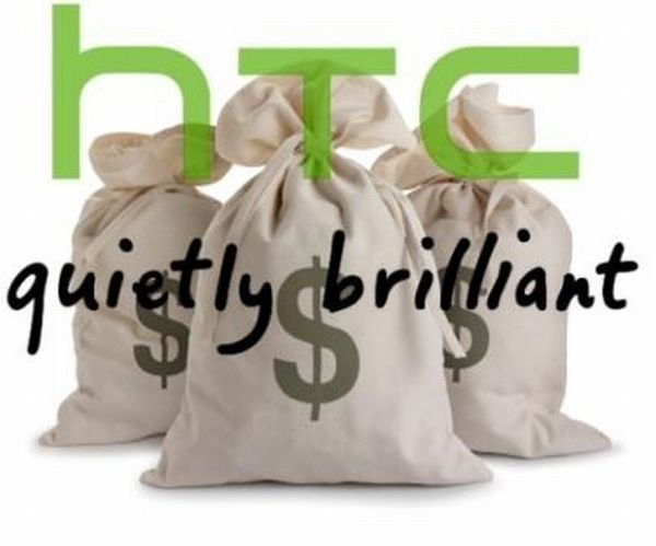 HTC is rolling in money