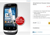 Android-Einsteiger Huawei Ideos X3 für 50 Euro bei Tchibo
